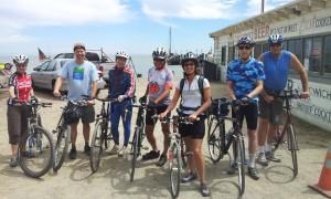 Bike the Watershed 3 Riders at China Camp