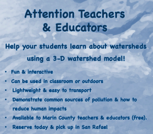 Watershed model offer to teachers