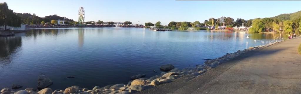 Marin Civic Center lagoon