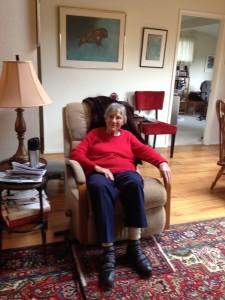 Lynn Payton at home in Santa Venetia
