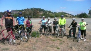 GWC Gallinas Watershed Bike Tour participants