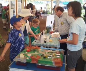 Watershed model in action at Marin County Fair