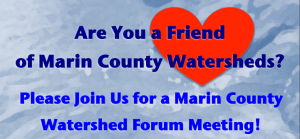 Marin Watershed Forum flyer
