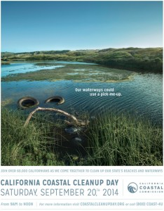 CA Coastal Cleanup 2014