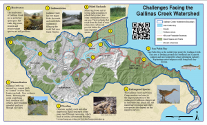 Gallinas Watershed Council  watershed map