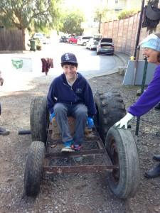 May 2015 MarinSEL School of Environmental Leadership Gallinas Creek Cleanup
