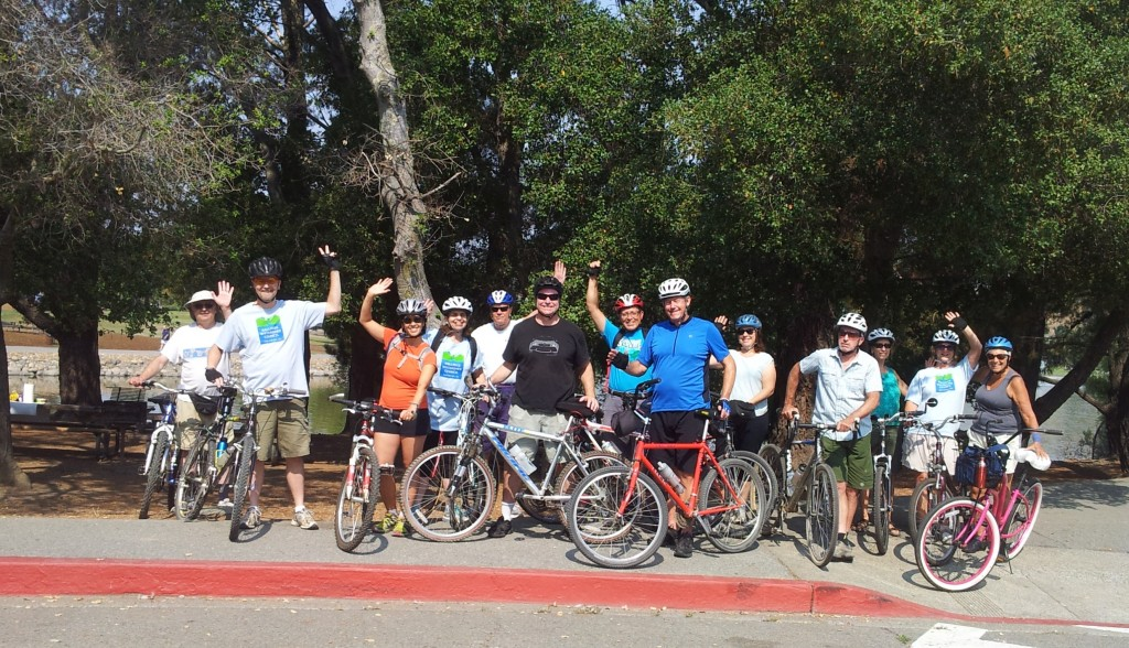 BIKE THE WATERSHED 5 bicycle tour 2015